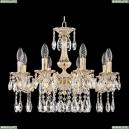 71102/8/175 A GW Подвесная люстра под бронзу из латуни Bohemia Ivele Crystal (Богемия), 7102