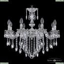 71102/8/210 B NW Подвесная люстра под бронзу из латуни Bohemia Ivele Crystal (Богемия), 7102