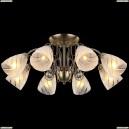 10716/8C ANTIQUE Люстра потолочная хрустальная, 8xE14, 60W, бронза Natali Kovaltseva (Ковальцева)