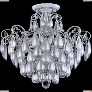 FR2302CL-04S Потолочная люстра Freya (Фрея), Chabrol White Silver