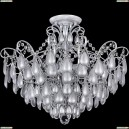 FR2302CL-06S Потолочная люстра Freya (Фрея), Chabrol White Silver