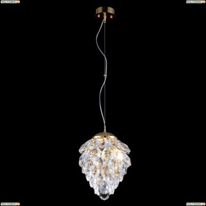 CHARME SP1+1 LED GOLD/TRANSPARENT Светильник подвесной Crystal Lux (Кристал Люкс), CHARME