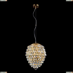 CHARME SP3+3 LED GOLD/TRANSPARENT Светильник подвесной Crystal Lux (Кристал Люкс), CHARME