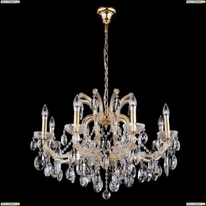 HOLLYWOOD SP8 GOLD Люстра Crystal Lux (Кристал Люкс), HOLLYWOOD