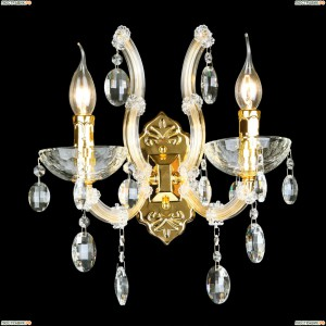 HOLLYWOOD AP2 GOLD Бра Crystal Lux (Кристал Люкс), HOLLYWOOD