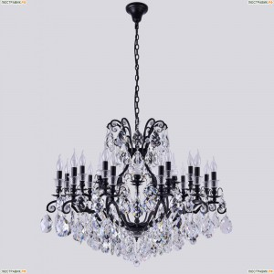 Magnifico SP19 Black/Transparent Подвесная люстра Crystal Lux (Кристал Люкс), Magnifico