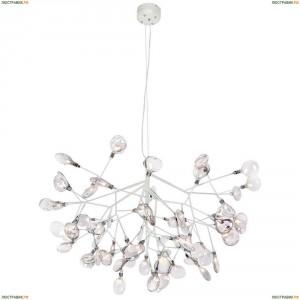 Evita SP63 White/Transparent Подвесная светодиодная люстра Crystal Lux (Кристал Люкс), Evita