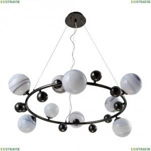 SALVADORE SP9H BLACK CHROMIUM Люстра подвесная Crystal Lux (Кристал Люкс), SALVADORE