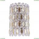 LIRICA AP2 CHROME/GOLD-TRANSPARENT Бра Crystal Lux (Кристал Люкс), LIRICA