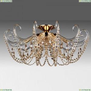 IMPERIA PL6 GOLD/AMBER Потолочная люстра Crystal Lux (Кристал Люкс), IMPERIA