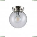 MARIO PL1 D200 NICKEL/TRANSPARENTE Потолочный светильник Crystal Lux (Кристал Люкс), MARIO