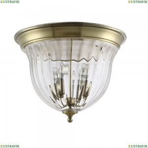 JUGO PL4 BRONZE/TRANSPARENTE Потолочный светильник Crystal Lux (Кристал Люкс), JUGO