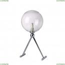 FABRICIO LG1 CHROME/TRANSPARENTE Настольная лампа Crystal Lux (Кристал Люкс), FABRICIO