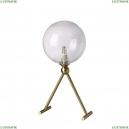 ANDRES LG1 BRONZE/TRANSPARENTE Настольная лампа Crystal Lux (Кристал Люкс), ANDRES