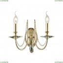 VICTORIA AP2 GOLD/AMBER Бра Crystal Lux (Кристал Люкс), VICTORIA