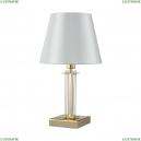 NICOLAS LG1 GOLD/WHITE Настольная лампа Crystal Lux (Кристал Люкс), NICOLAS