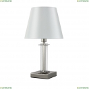 NICOLAS LG1 NICKEL/WHITE Настольная лампа Crystal Lux (Кристал Люкс), NICOLAS