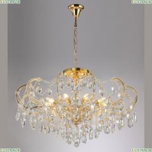 HOLLYWOOD SP-PL10 GOLD D1000 Подвесная люстра с хрусталем Crystal Lux (Кристал Люкс), HOLLYWOOD