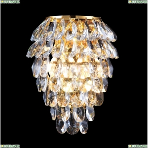 CHARME AP3 GOLD/TRANSPARENT Бра Crystal Lux (Кристал Люкс), CHARME