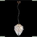 CHARME SP2 GOLD/TRANSPARENT Подвесной светильник Crystal Lux (Кристал Люкс), CHARME