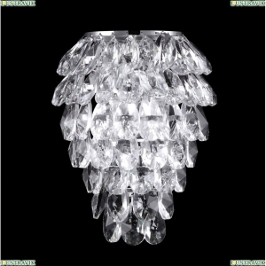 CHARME AP3 CHROME/TRANSPARENT Бра Crystal Lux (Кристал Люкс), CHARME