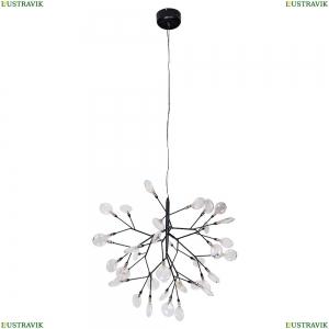 EVITA SP36 BLACK/TRANSPARENT Люстра подвесная Crystal Lux (Кристал Люкс), Evita