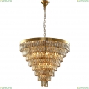 ABIGAIL SP22 D820 GOLD/AMBER Подвесная люстра с хрусталем Crystal Lux (Кристал Люкс), ABIGAIL