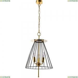 MODESTO SP3 BLACK/GOLD Подвесной светильник Modesto Crystal Lux (Кристал Люкс), MODESTO