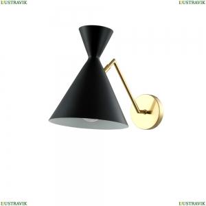 JOVEN AP1 GOLD/BLACK Бра Joven Crystal Lux (Кристал Люкс), JOVEN
