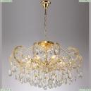 HOLLYWOOD SP-PL8 GOLD D800 Люстра подвесная Crystal Lux (Кристал Люкс), HOLLYWOOD