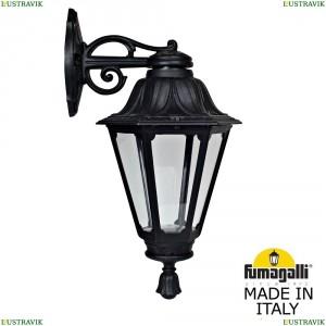 E26.131.000.AXF1RDN Светильник уличный настенный Fumagalli (Фумагали), BISSO/RUT DN