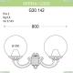G30.142.000.WZE27 Уличный настенный светильник Fumagalli (Фумагали), Mirra/G300
