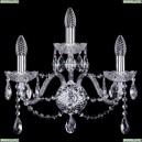 10.12.2+1.165.Cr.Sp Бра хрустальное Bohemia Art Classic (Арт Классик), 11.12