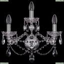 10.21.2+1.165.Cr.Sp Бра хрустальное Bohemia Art Classic (Арт Классик), 11.21