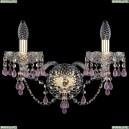 10.24.2.165.XL.Gd.V7010 Бра хрустальное Bohemia Art Classic (Арт Классик), 11.24