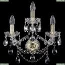 10.25.2+1.141.Gd.Sp Бра хрустальное Bohemia Art Classic (Арт Классик), 11.25