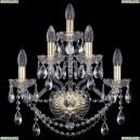 10.25.2+2+1.165.Gd.Sp Бра хрустальное Bohemia Art Classic (Арт Классик), 11.25