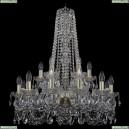 11.11.12+6.240.h-80.Gd.Sp Люстра хрустальная Bohemia Art Classic (Арт Классик), 11.11