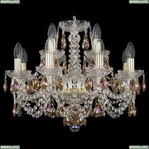 11.11.8+4.195.Gd.Sp.K777 Люстра хрустальная Bohemia Art Classic (Арт Классик), 11.11