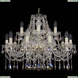 11.12.10+5.240.Gd.Sp.K801 Люстра хрустальная Bohemia Art Classic (Арт Классик), 11.12