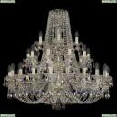 11.21.20+10+5.360.3d.Gd.Sp.K801 Люстра хрустальная Bohemia Art Classic (Арт Классик), 11.21