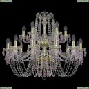 11.24.12+6.300.2d.Gd.V7010 Люстра хрустальная Bohemia Art Classic (Арт Классик), 11.24
