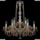 11.24.6+3.200.h-64.Gd.V1003 Люстра хрустальная Bohemia Art Classic (Арт Классик), 11.24