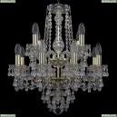 11.24.8+4.165.2d.Gd.V0300 Люстра хрустальная Bohemia Art Classic (Арт Классик), 11.24