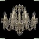 11.24.8+4.200.Gd.V0300.R801 Люстра хрустальная Bohemia Art Classic (Арт Классик), 11.24