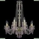 11.24.8+4.220.h-77.Gd.V7010 Люстра хрустальная Bohemia Art Classic (Арт Классик), 11.24