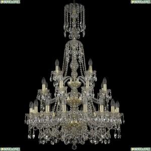 11.25.16+8+4.300.3d.XL-130.Gd.Sp Люстра хрустальная Bohemia Art Classic (Арт Классик), 11.25