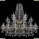 11.25.16+8+4.460.2d.Gd.Sp Люстра хрустальная Bohemia Art Classic (Арт Классик), 11.25