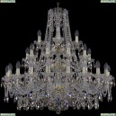 11.25.20+10+5.360.3d.Gd.Sp.K801 Люстра хрустальная Bohemia Art Classic (Арт Классик), 11.25