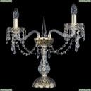 12.23.2.141-37.Gd.Dr Настольная лампа хрустальная Bohemia Art Classic (Арт Классик), 11.23